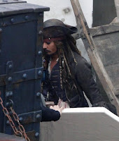 Pirates of the Caribbean 4 Set Photo