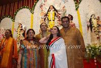 Rani Mukherjee at Durga Pooja Santacruz