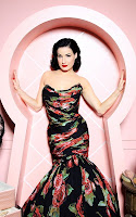 Dita Von Teese launching her new Cointreau collection