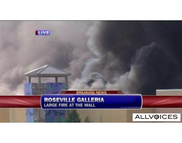 Galleria Mall Fire Pics