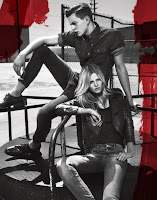 Lara Stone New Calvin Klein Jeans Ad Pictures