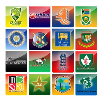 logos of the world. Teams Logo Of ICC World cup