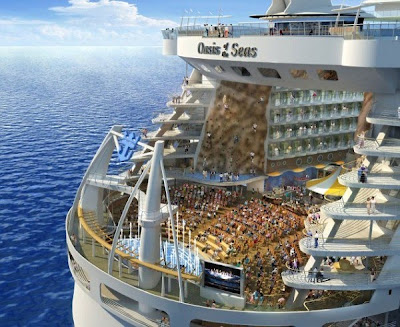 Ship wallpaper, Largest Cruise Ship, Entertainment