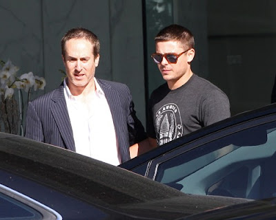 Zac Efron out for his CAA Meeting Photos