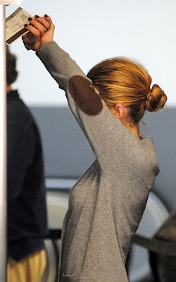 Blake Lively passing through security at LAX Airport
