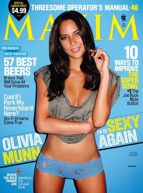 Olivia Munn Maxim Magazine February 2011