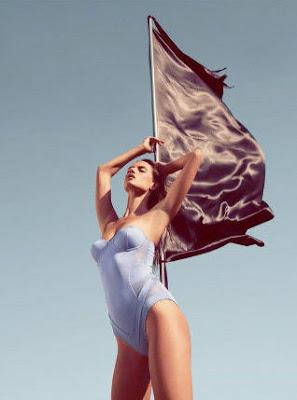 Alessandra Ambrosio sizzles in Koton Beachwear