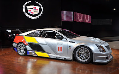 CTS-V Coupe Race Car Hot Photos