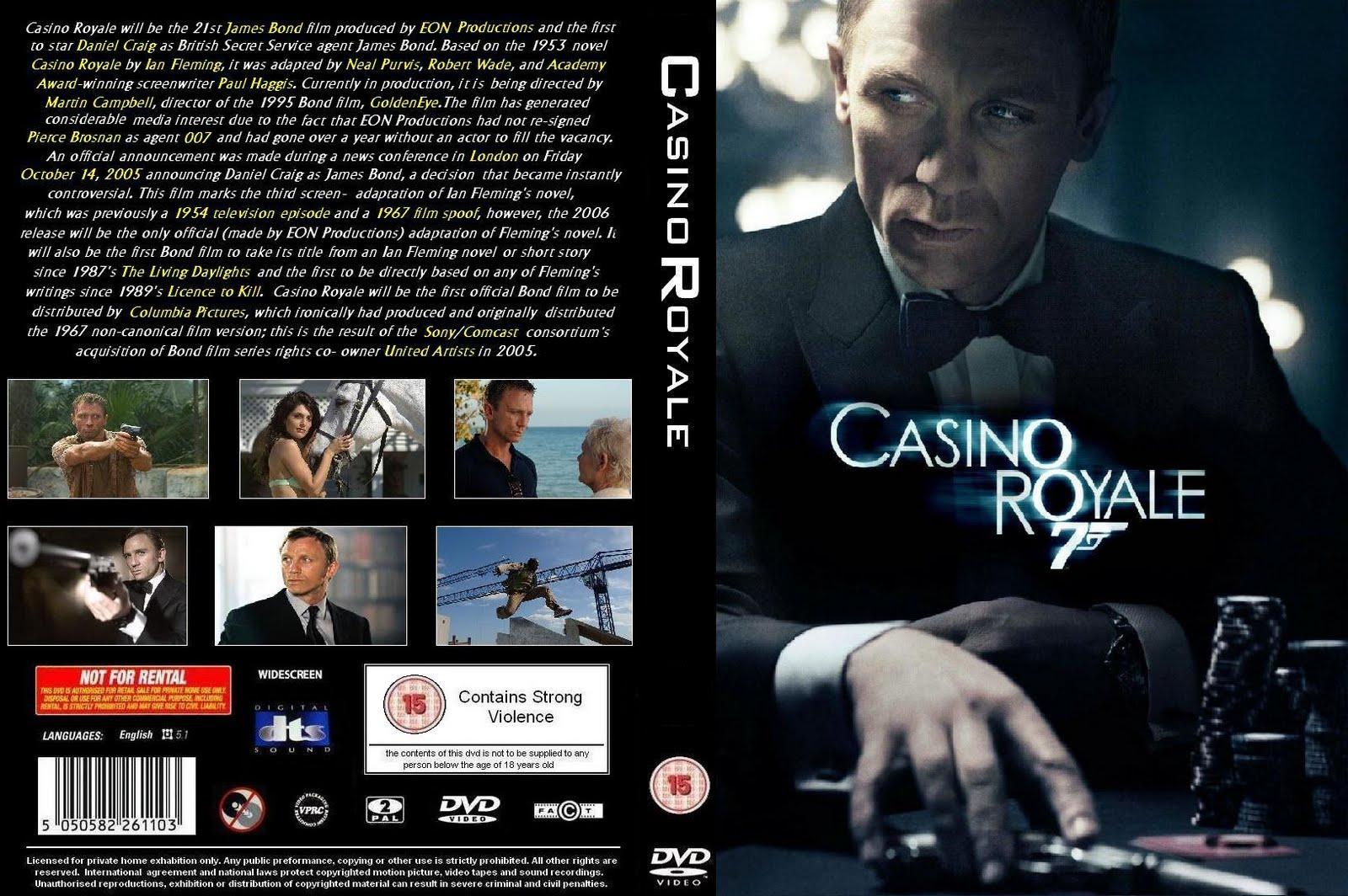 Саундтрек до агента 007 Казино Рояль знають моє імя онлайн-казино, де вам дають у борг