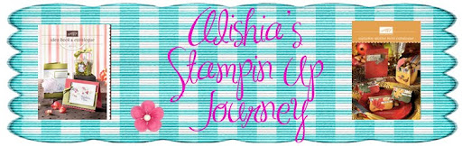 Alishia's Stampin Up Journey