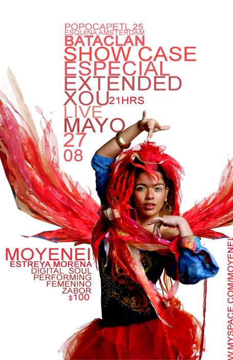 Estreya Morena en show case especial