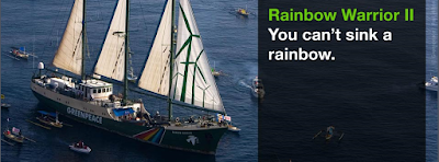 Grenpeace Ships Rainbow Warrior II