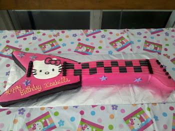 Rockstar Kitty Cake