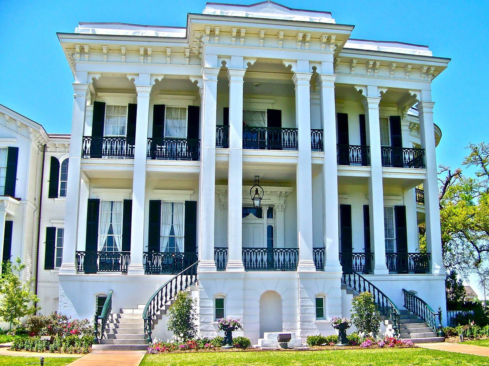 All about houses southern plantations - Home style louisiana ...