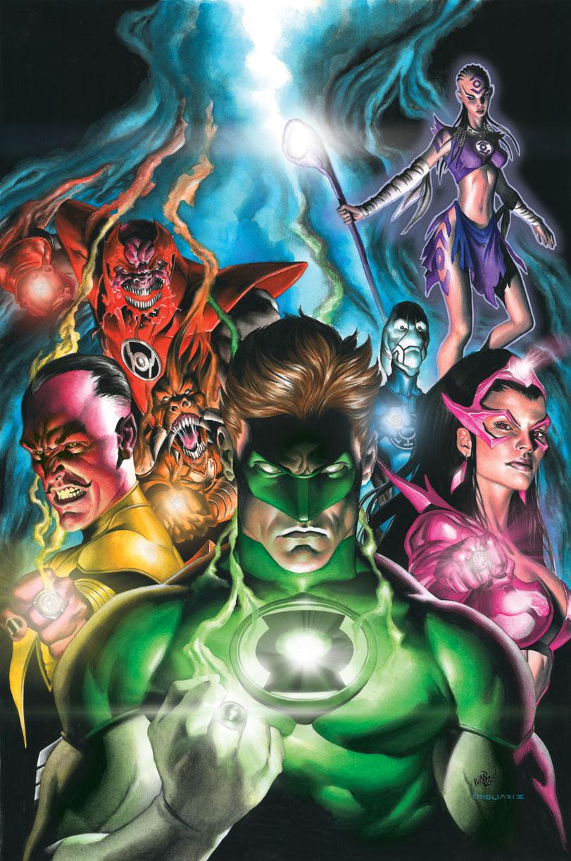 Green Lantern Power Ring Darkest Night