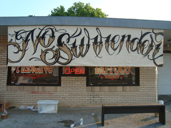 No surrender studios becoming art menso for Corpus christi tattoo shops