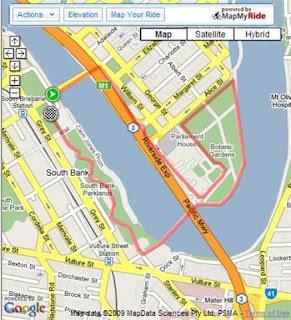 5km Route Walkathon Route