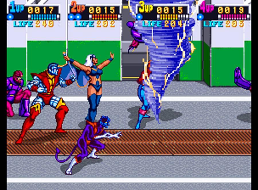 virtual iansanity x men arcade