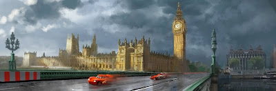 Cars 2 - London, England