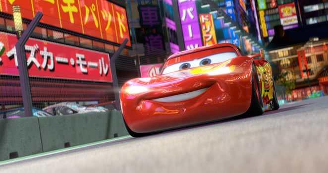 Cars 2 movie clip