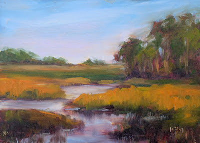 Kiawah Island Real Estate on Kiawah Island Marsh Oil Painting   Charleston Sc Real Estate   Zimbio