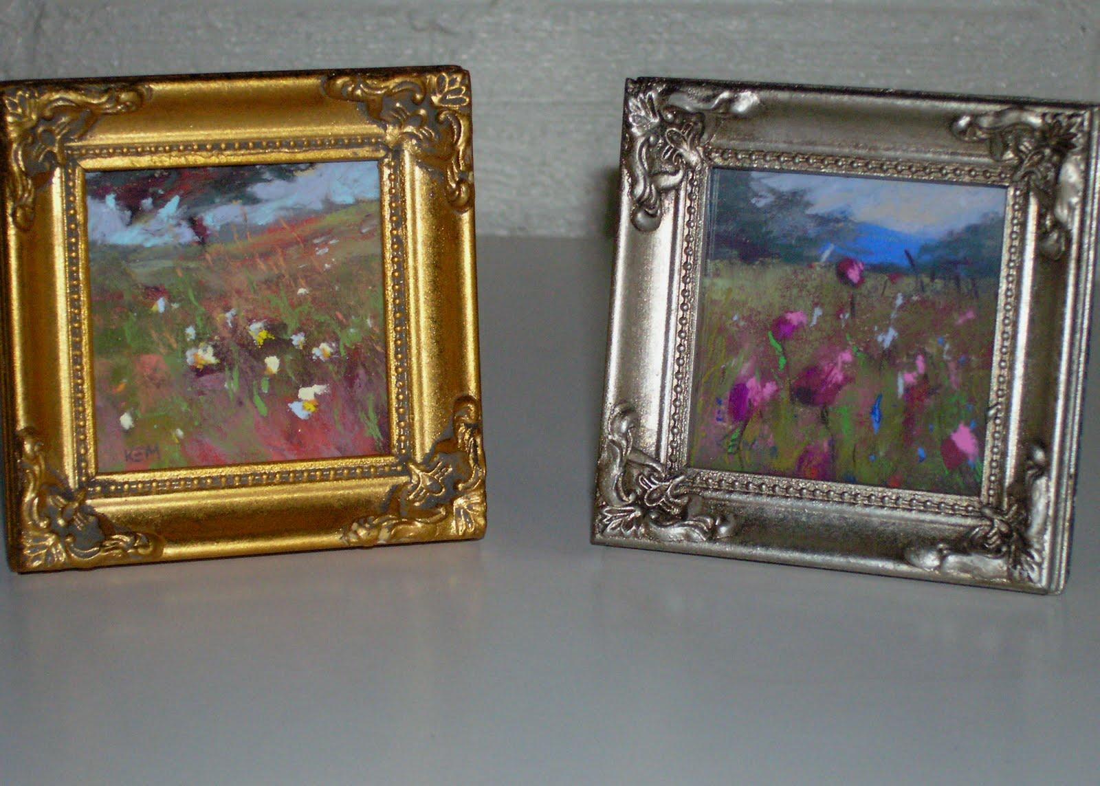 Painting My World: Wildflower Miniature Paintings 3x3