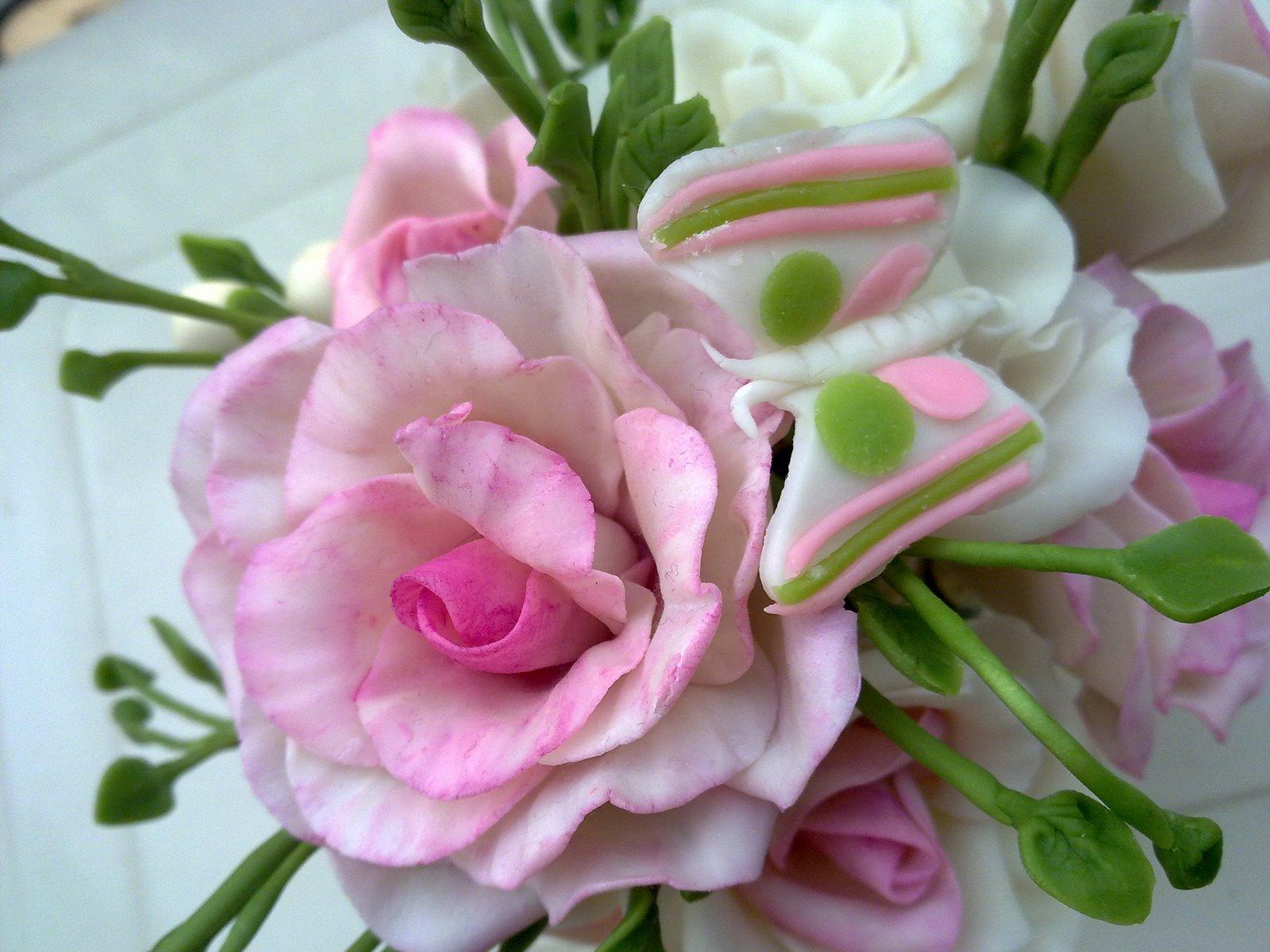 Цветы из холодного фарфора своими руками для начинающих