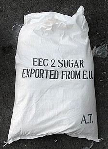 Explosieven verpakt in suikerzakken EU