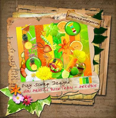 http://ginyscrap.blogspot.com/2009/07/sunfruits-blogtrain-freebie.html