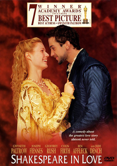 shakespeare in love. that Shakespeare In Love