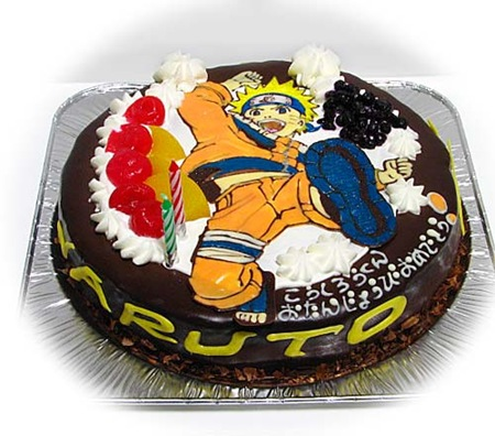 Naruto Birthday Cake Wallpaper