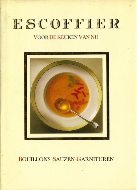 De belezen kater escoffier voor de keuken van nu for Auguste escoffier ma cuisine book