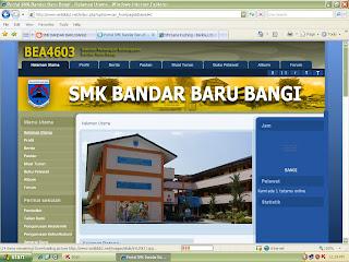 Alamat Website sekolah yang baru