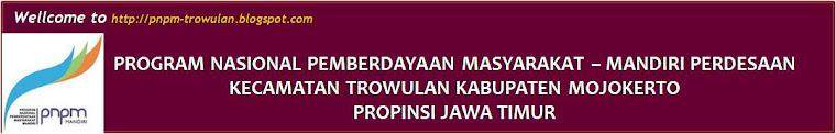 PNPM Mandiri Perdesaan Kecamatan Trowulan