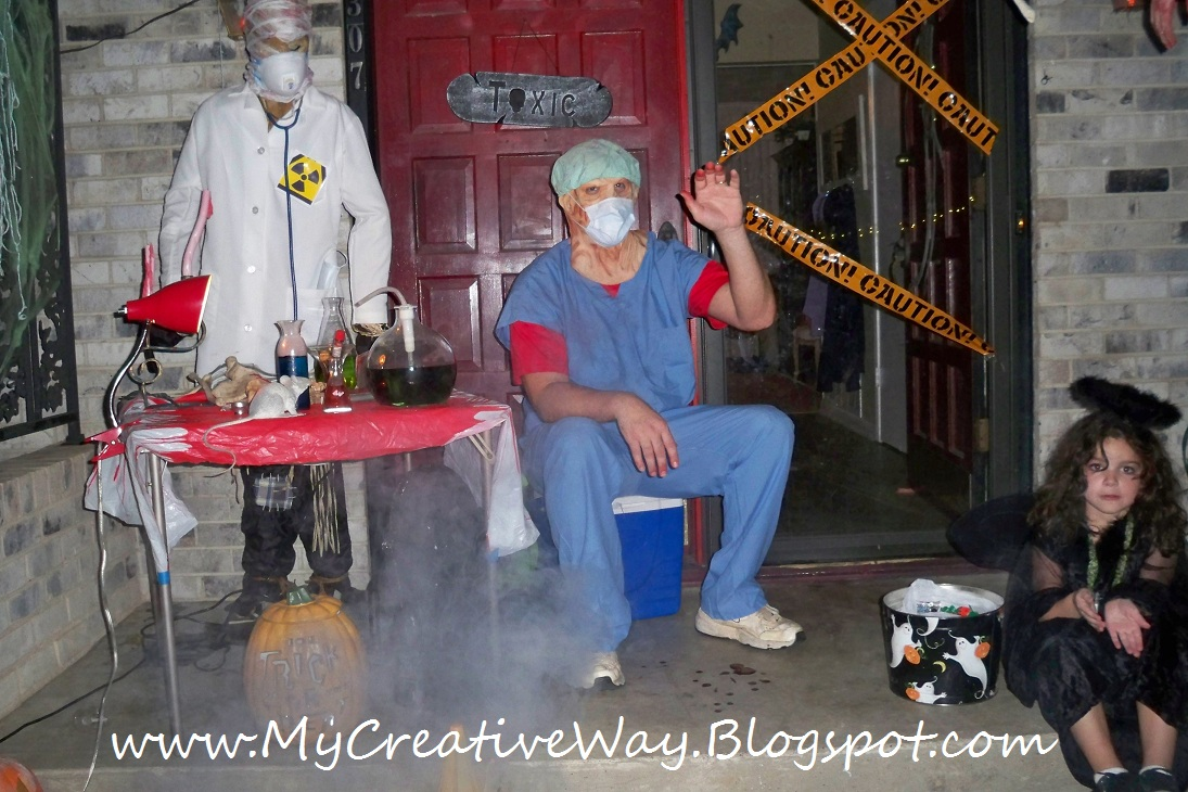 Scary Adult Haunted House Ideas http://www.my-creativeway.com/2010/11/haunted-house-ideas.html