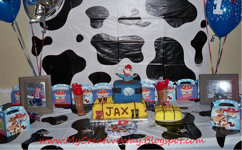 My Creative Way: Cowboy Birthday Party Ideas