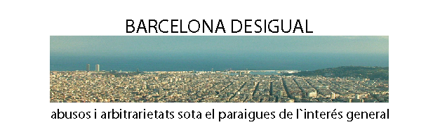 Barcelona desigual