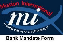 Bank Mandate Form: