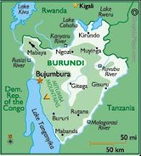 Burundi Map: