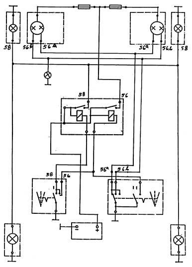 info 0tomotif  rangkaian lampu kepala