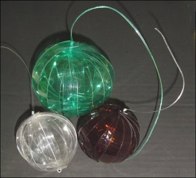 Manualidades para navidad botellas pet quercus 4 0 - Que se puede hacer con botellas de plastico ...