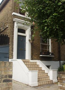 The house in London's East End where I was brought up