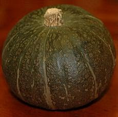 Kabocha, or Japanese pumpkin