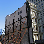 Leaning Tower of Broadway - 287 Broadway / 55 Reade, before the luxury condo that undermined it went up.