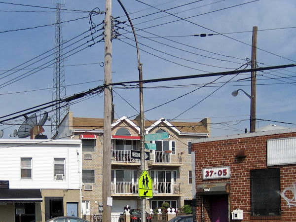 Queens Wiring - At Greenpoint Ave. & 37th St.