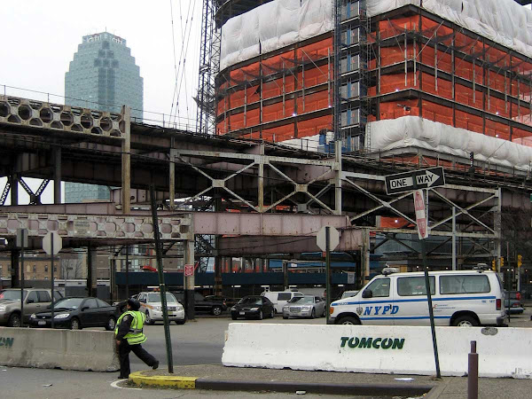 Queens Plaza Patrol - Just before yuppification of the plaza went into high gear.