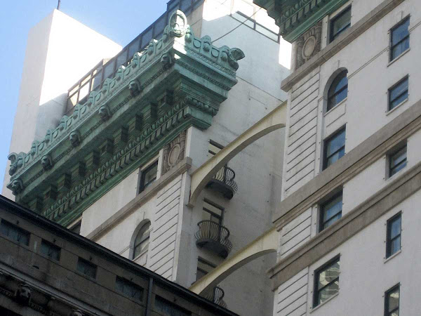 Arch Pair - On the backside of the Peninsula Hotel, from 5th Ave. & 54th St.