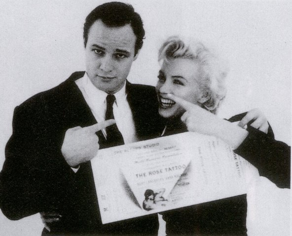 Somethings got to give: Marlon Brando and Marilyn Monroe