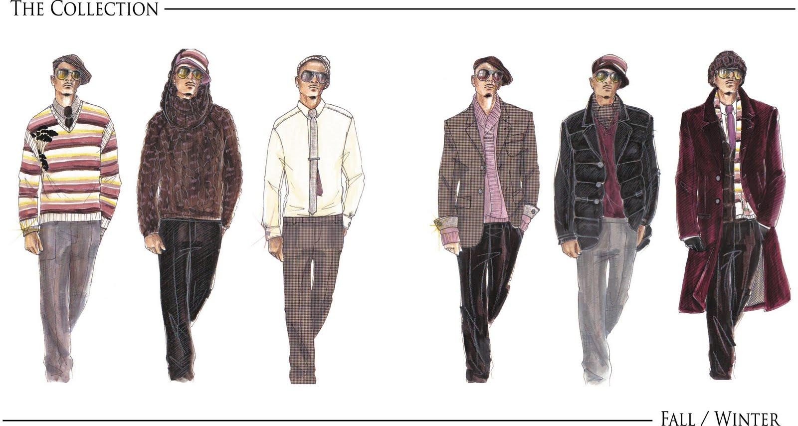 Sacsha Flowers Portfolio Preview Fashion Illustration