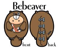 Bebeaver  海狸必必(男仔)
